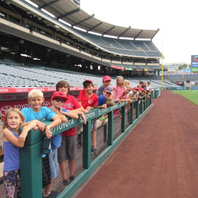 Angels dugout