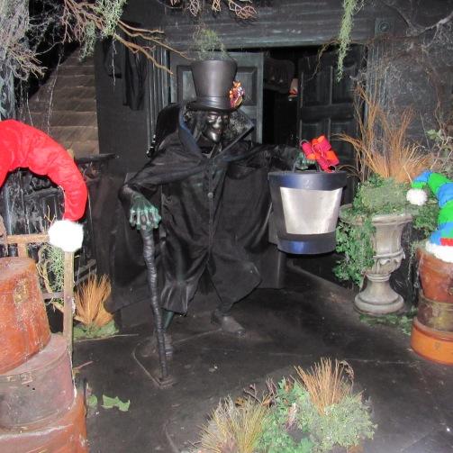 On haunted Mansion