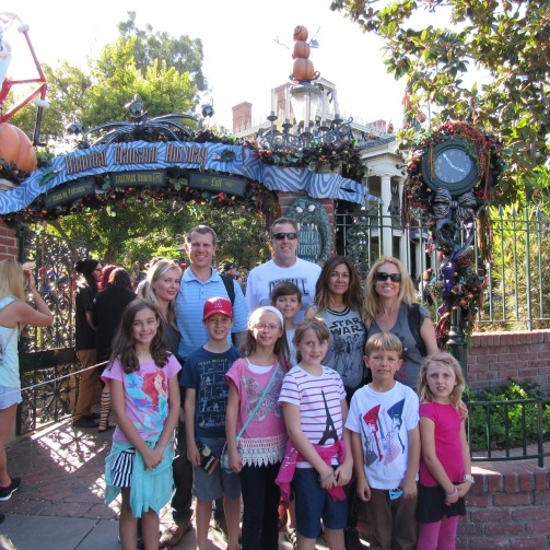 Outside Haunted Mansion