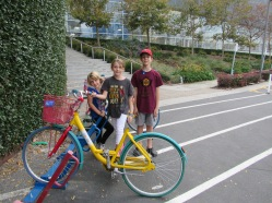 Here we are with the Google bikes!