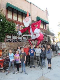 tios tacos group shot santa