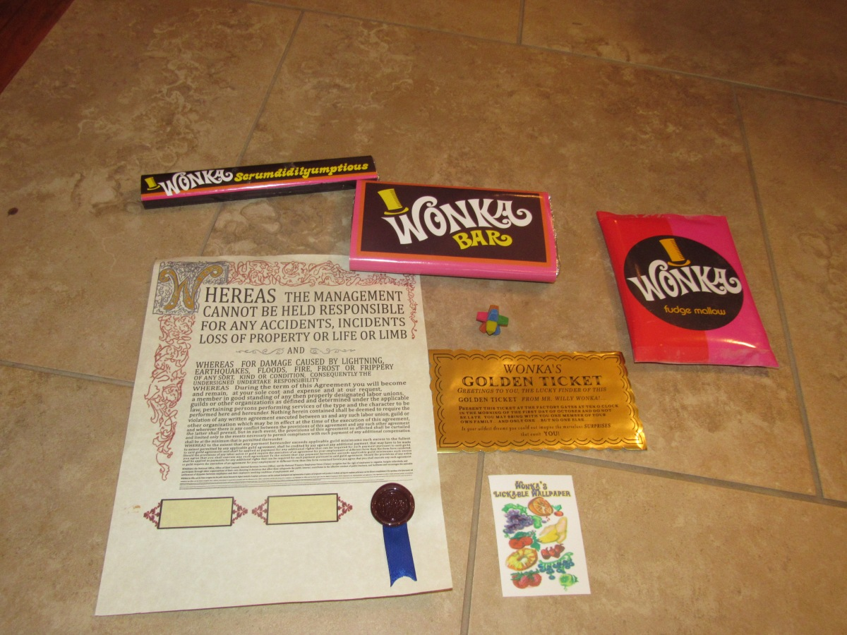 My Willy Wonka Christmas Gifts
