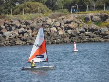 Me sailing.